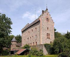 Eppsteiner Schloss in Schotten im Vogelsbergkreis,
