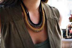 box braid necklace