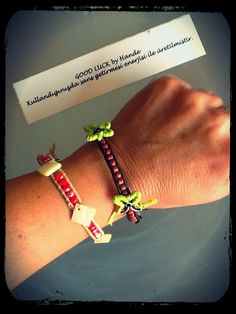 Good Luck by Hande #bracelet