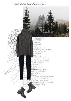 """""""I can't help but think of you every day"""" by rosa-loves-skittles ❤ liked on Polyvore featuring Abercrombie & Fitch and Isabel Marant"""