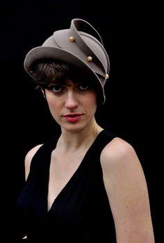 Hats by a fellow Bosnian artist Behida Dolic