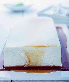 Panacota com caramelo (sem lactose nem glúten)