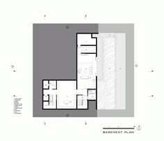 Image 11 of 16 from gallery of Hillside House / Architects. Second Floor Plan Hillside House, Luxury House Plans, Architecture Plan, Plan Design, Second Floor, Luxury Homes, Floor Plans, Layout, Flooring