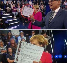 """Wurden mal wieder die GEZ-Zahler vom ZDF verarscht? In der gestrigen """"Live-Sendung"""" Klartext antwortete Angela Merkel auf Zuschauerfragen. Das klang alles sehr"""