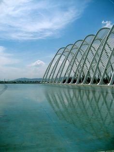Barcelona Olympic Stadium in Barcelona, Spain