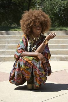 Spelman College Student. Ankara Fashion.  http://thatnigeriankid.tumblr.com