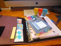 How I Organise My A5 Filofax, pictures and information on how I set up my Finsbury