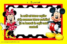 La multi ani! Mickey Mouse, Disney Characters, Fictional Characters, Art, Art Background, Kunst, Fantasy Characters, Baby Mouse, Art Education