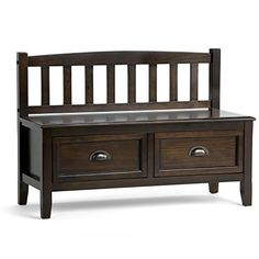 You want to your front entrance to be dramatic and spectacular. We understand. We designed the Burlington Storage Bench with exactly this in mind. This beautiful bench enhances your entryway while creating added storage and seating for your entryway or mudroom. Understanding that functionality... more details available at https://furniture.bestselleroutlets.com/entryway-furniture/storage-benches/product-review-for-simpli-home-burlington-entryway-storage-bench-with-drawers-esp