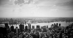 Vue de L'Empire State Building New York City par Brice Mercier