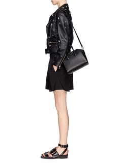 Givenchy Black Antigona Mini Leather Satchel $1665