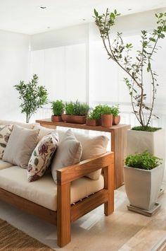 Cantinhos verdes dão vivacidade aos ambientes; veja os projetos - BOL Fotos