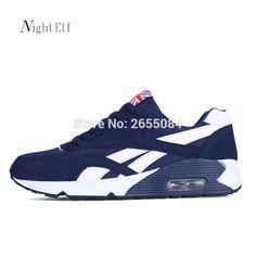 designer fashion 0e77a cb827 Night Elf hombres zapatos corrientes de los hombres entrenadores zapatos  respirables del deporte de los hombres