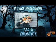 8 Tage Halloween - Tag 4 - Kürbistüte mit Produkten von Stampin' Up! - YouTube