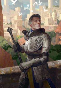 View an image titled 'Cintrian Knight Art' in our Gwent: The Witcher Card Game art gallery featuring official character designs, concept art, and promo pictures. Fantasy Concept Art, Fantasy Armor, Medieval Fantasy, Dark Fantasy, Medieval Knight, Fantasy Male, Fantasy Inspiration, Character Design Inspiration, Character Portraits