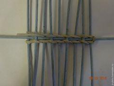 Мастер-класс: плетение сервировочных ковриков из бумажных трубочек – Ярмарка Мастеров