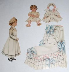 They were from a collector and she has June 1916 written in pencil on th back of the bed. We do know know if that is an accuate date. We show a picture of the backside which appears to be from an old magazine.   eBay!