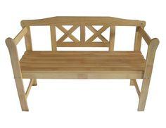 Outdoor Wooden 2 Seater Garden Hardwood Bench NOW £23.98 delivered @ eBay