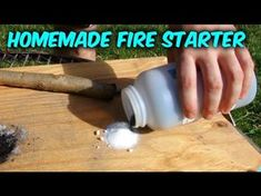 How to Start a Fire with Sugar (Without Matches) - - Survival Hack #55