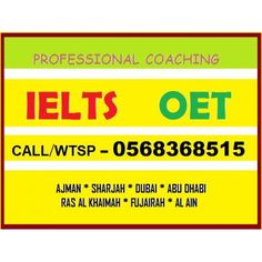IELTS COACHING IN SHARJAH.CALL/WTSP-0568368515 http://sharjah.anunico.ae/ad/tutoring_private_lessons/ielts_coaching_in_sharjah_call_wtsp_0568368515-30238185.html