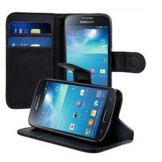 Mobil plånboksfodral Samsung Galaxy S4 Mini 2 kortplatser samt ett  sedelfack mycket fin kvalitè   f88d387a13d28