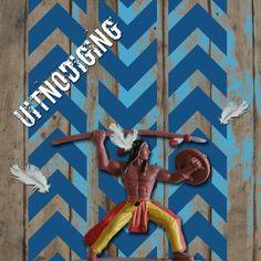 Uitnodiging kinderfeestje | stoere indiaan | © De Schildertuin | www.schildertuin.nl