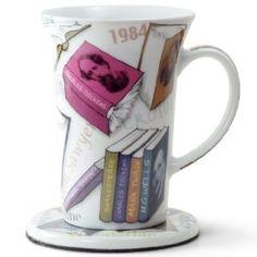 Noveltea Mug with Coaster in Tin