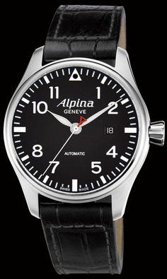 Alpina Startimer Pilot  $1,150. alpina-watches.com