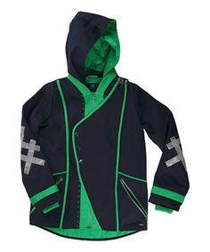 Look at this #zulilyfind! Navy & Green Deepsi Jacket - Toddler & Boys by Vicious Wear #zulilyfinds