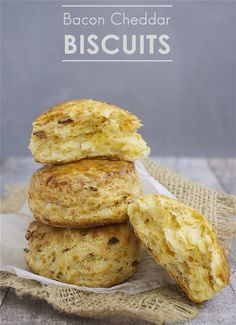 Bacon Cheddar Biscuits   Deliciously Declassified