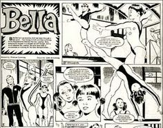 Bella at the Bar from Tammy comic