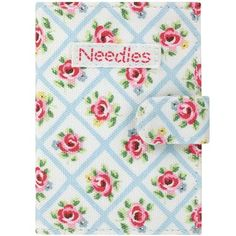 Keep your needles safe and sound in our pretty Quilted Rose case, which comes complete with needles. Matching items available.