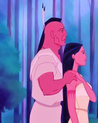 Pocahontas & her father, Chief Powhatan. Seriously thinking about getting this Disney Fanatic, Disney Nerd, Disney Girls, Disney Addict, Princess Pocahontas, Disney Pocahontas, Disney Princess, Princess Movies, Disney Dream