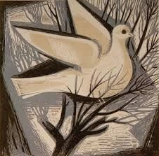 Pigeon - by A. Greece Painting, 28th October, Peace Art, Social Art, Greek Art, 10 Picture, Gravure, Bird Feathers, Pigeon