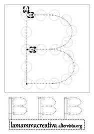scrivere alfabeto