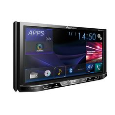 Pioneer® - Double DIN Receiver with Motorized Display, Built-In Bluetooth, Siri Eyes Free, SiriusXM-Ready, Spotify and AppRadio One Pioneer Car Stereo, Pioneer Radio, Usb, Notebooks, Music Production Equipment, Car Head Units, Waterproof Phone Case, Car Audio Systems, Car Bluetooth