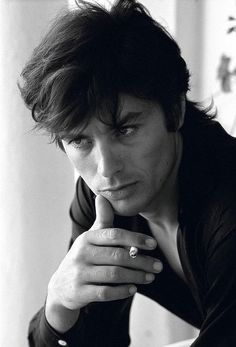 Alain Delon the man who doesn't accept his son he had with Nico Velvet Underground. So a Big -