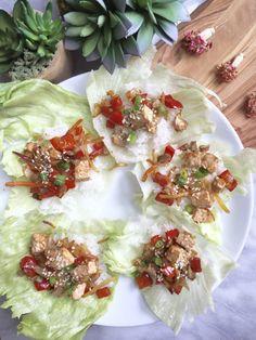 Easy Vegan Tofu Stir Fry Lettuce Cups!
