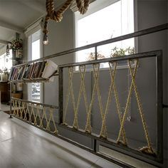 rope stair railing design by Antonio Martins - Tìm với Google