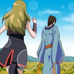 Hotaru and Utakata :D from one of the episodes in the Tsuchigumo Kinjutsu arc :3