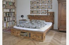 Postel no. 3 pro matraci / Zboží prodejce HOME furniture Home Furniture, Mattress, Toddler Bed, Bedroom, House, Home Decor, Author, Products, Houses