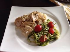 Fit foodie: Can't get me out the kitchen! - Man Pleasing Chicken with pesto zoodles #recipes #fitness #healthy #pasta #sausage #lasagna #zoodles #pesto #pumpkin #goldfish http://nicolemichelles.com/2014/07/03/fit-foodie-cant-get-me-out-the-kitchen/