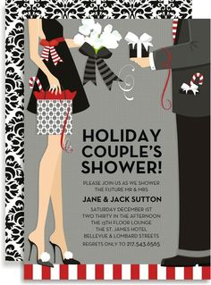 holiday couple's shower