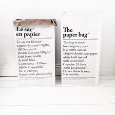 Le sac en papier papirposen finner du på www.multitrend.no, gratis frakt :)
