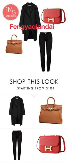 """Fengyaqiandai genuine leather bags20151209004"" by houseofhello on Polyvore featuring Marni and Frame Denim"