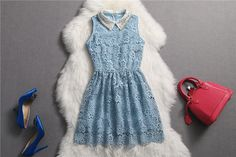 Elegant And Cute Summer Lace Dresses, Lace Dress, Summer Dresses 2014, Lace Mini Dress, Mini Dress on Luulla