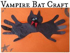 DIY Halloween : DIY Easy Bat Craft For Kids