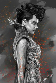 Wicked Johanna Mason art. Way to capture her defiant cheekiness. Love this chick.