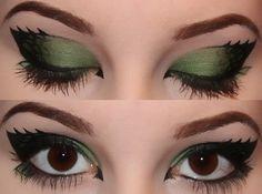 amelias-makeup: Dragon inspired eyes.