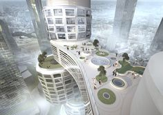 asymptote architecture: velo towers - YIBD